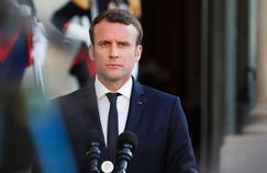Le président de la République Emmanuel Macron, le 21 mai 2017 à Paris.