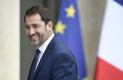 Christophe Castaner à l'Élysée, le 18 mai 2017.