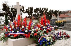 La tombe du Général de Gaulle.