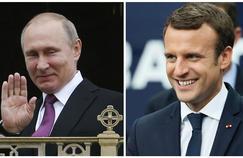 Quand Macron accueille Poutine, la bête noire des Femen et de Greenpeace