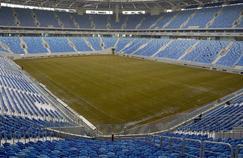 La Zenith Arena (ou stade Krestovski) à Saint-Pétersbourg