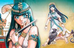 Reine d'Égypte, la première féministe de l'Histoire en manga