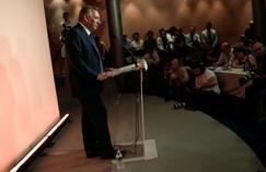 François Bayrou, mercredi lors de sa conférence de presse.
