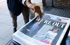 Le 24 juin 2016, la une de l'Evening Standard annonce les résultats du référendum proposé par David Cameron. 51,9% des votants ont choisi de quitter l'UE.