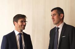 Nicolas Beaugrand (à gauche) et Pascal Fabre, managing directors chez Alixpartners.