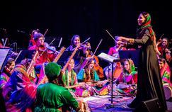 L'école de musique a été fermée pendant la période des talibans, qui avaient interdit la musique.