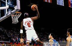 Michael Jordan sous le maillot de la Team USA