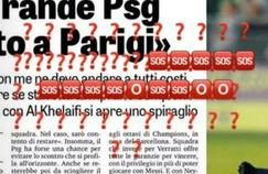 Des «SOS» et autres «???» devant l'article de la Gazzetta