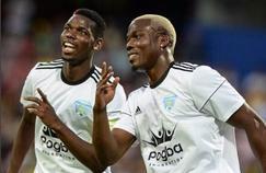Paul Pogba et son frère Mathiasréunis pour la bonne cause lors d'un match de charité. Crédit source: Compte officiel Instagram de Paul Pogba
