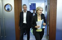 Laurent Wauquiez et Valérie Pécresse, le 24 juin à Paris.