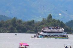 En Colombie, le naufrage d'un bateau fait au moins six morts et seize disparus