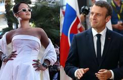 Rihanna demande à Macron de financer son fonds pour l'éducation