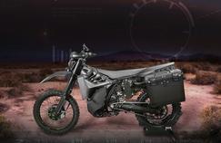 SilentHawk : une moto hybride et furtive