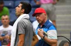 Novak Djokovic, sous les ordres de Boris Becker de fin 2013 à 2016