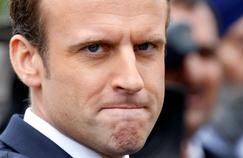 La popularité d'Emmanuel Macron chute de 10 points en juin