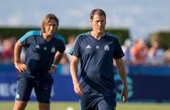 Rudi Garcia à l'entraînement de l'Olympique de Marseille le 18 juillet dernier.