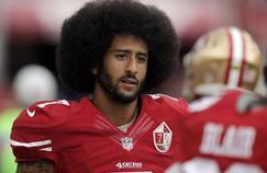 Colin Kaepernick, l'ancien quarterback des 49ers de San Francisco.