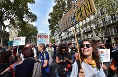 Suivez en direct vidéo la manifestation de Jean-Luc Mélenchon
