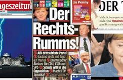 Législatives en Allemagne: dans la presse, un coup de tonnerre