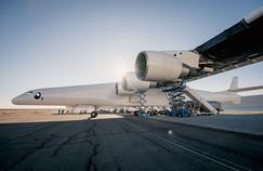 Premiers essais moteurs de Stratolaunch, le plus grand avion au monde