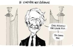 Le dessin d'Ixène : «Le cimetière des élégants»