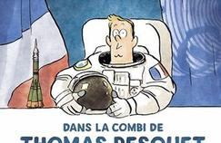 Thomas Pesquet en BD : «Je ne suis pas de l'étoffe des héros»