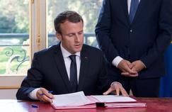 Macron, sept mois à l'Élysée : Le Figaro Magazine lui remet son bulletin de notes