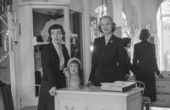 Haute couture, années 50 (épisode 3): le monde des vendeuses