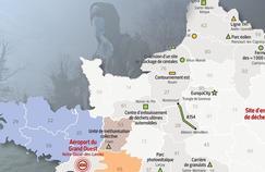 Après Notre-Dame-des-Landes, notre carte des 50 projets d'aménagement ciblés par les zadistes