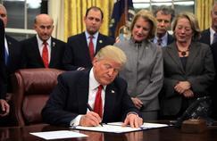 En un an, Trump a multiplié les tentatives pour réformer l'immigration