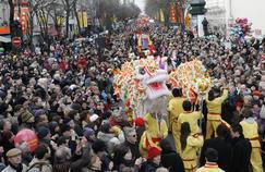 Nouvel An chinois: le programme des festivités à Paris