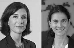Sonia Barrière et Anne-Sophie Le Lav (Air France-KLM), David Lapitz (Club Med)