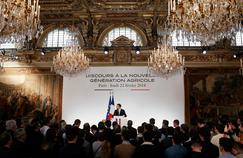 Les promesses de Macron aux jeunes agriculteurs