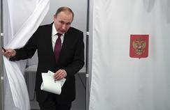 À Dzerjinski, le président Poutine n'a pas manqué de bulletins de vote