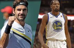 Roger Federer et Kevin Durant font partie du classement du Time Magazine des 100 personnalités les plus influentes de l'année.