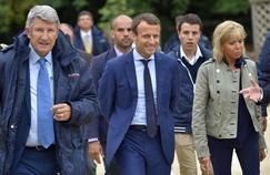 Les relations cordiales entre les Macron et Villiers
