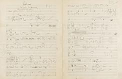 Un appel aux dons pour une partition de Maurice Ravel vendue chez Drouot