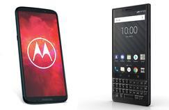 Smartphones : Motorola et BlackBerry contre-attaquent