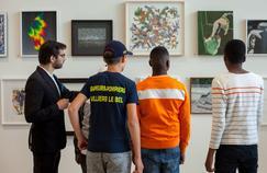Une vente aux enchères à l'aveugle à la Fondation Louis Vuitton