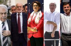 Élections en Turquie : qui sont les cinq candidats face à Erdogan ?