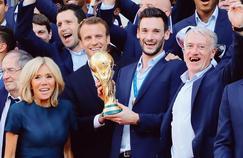 La victoire des Bleus ne profite pas à la popularité d'Emmanuel Macron