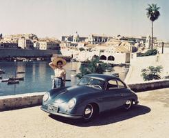 La Porsche 356.