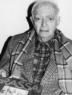 Brassaï (1899-1984), photographe français d'origine hongroise, en 1982.