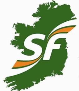 L'Irlande unifiée est l'emblème du parti nationaliste Sinn Féin.