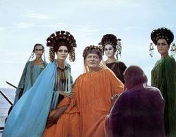 Scène du «Satyricon» de Fellini.