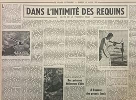 Article paru dans Le Figaro Littéraire du 12 avril 1952.