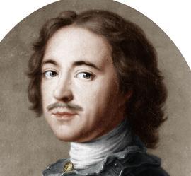 Le tsar Pierre le Grand (1672-1725).