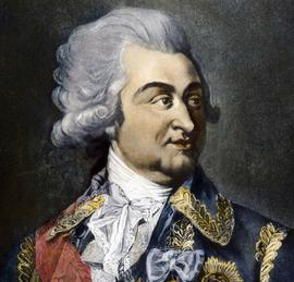 Grigori Potemkine (1739-1791) militaire et homme d'état russe, le favori de Catherine II (gravure anglaise de 1792)