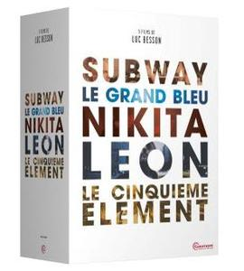 Coffret 5 films de Luc Besson.