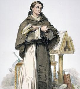 Saint Bernard de Clairvaux, moine cistercien français.